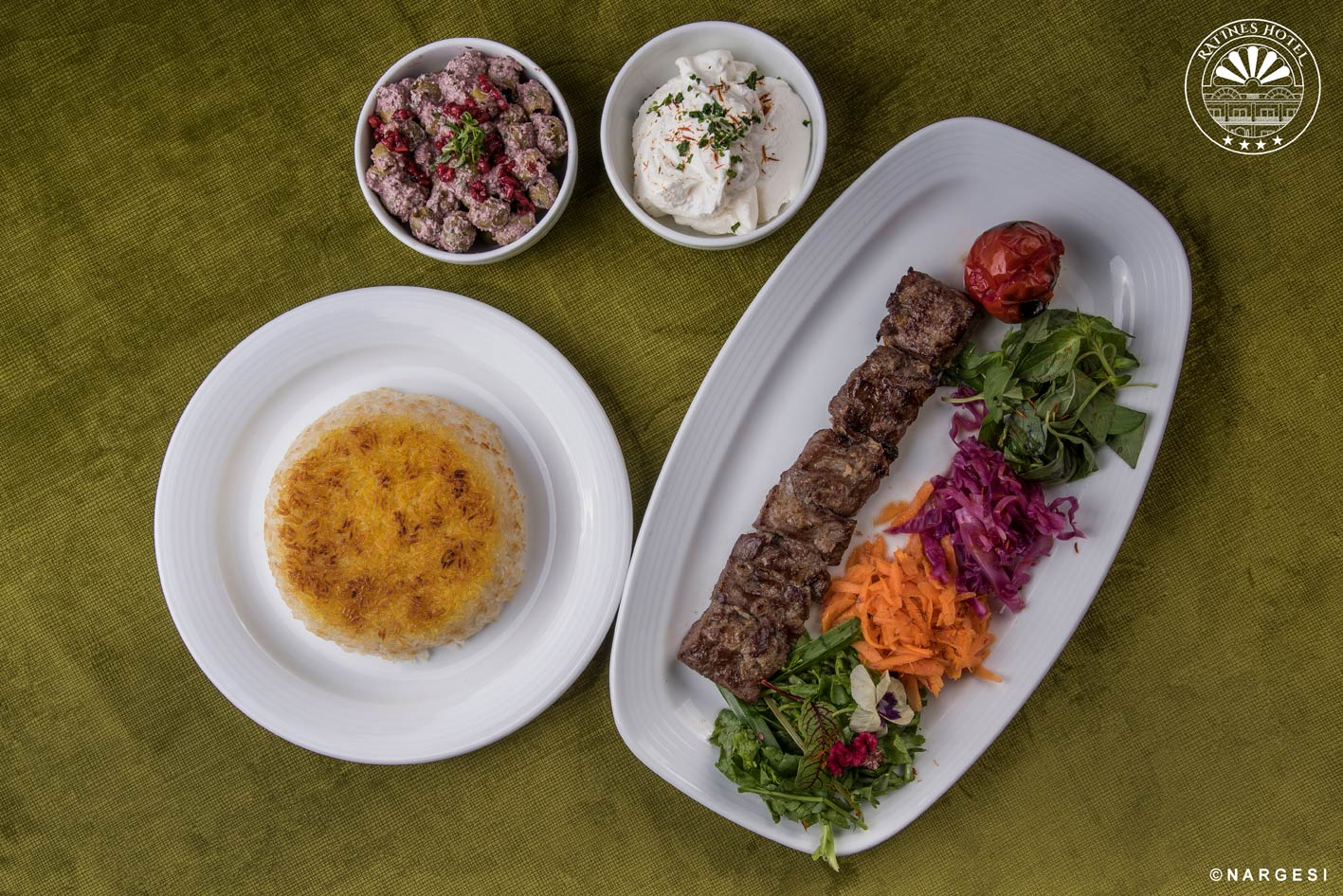 خوشمزه ترین غذاها را در هتل راتینس گیلان تجربه کنید