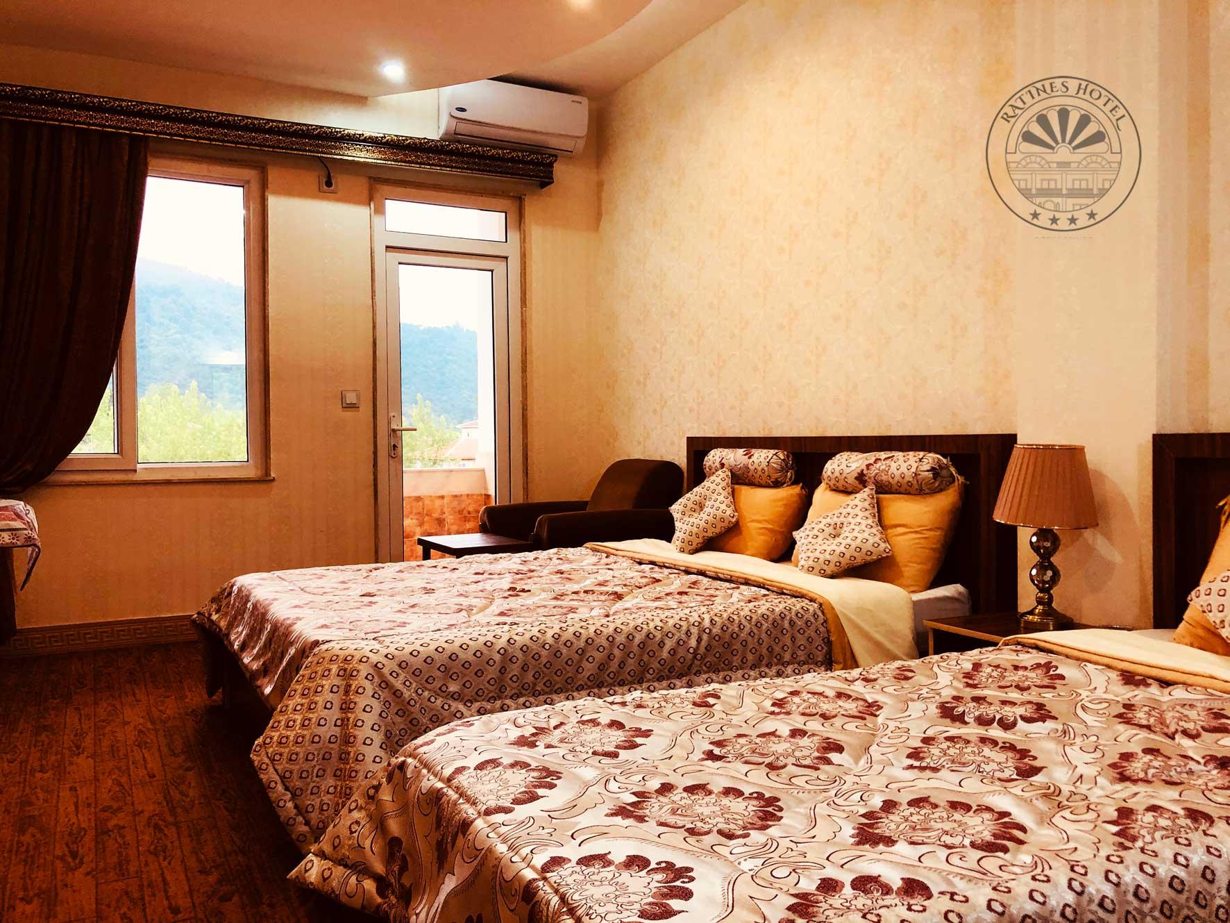 قیمت اتاقهای هتل راتینس شهریور ۹۹