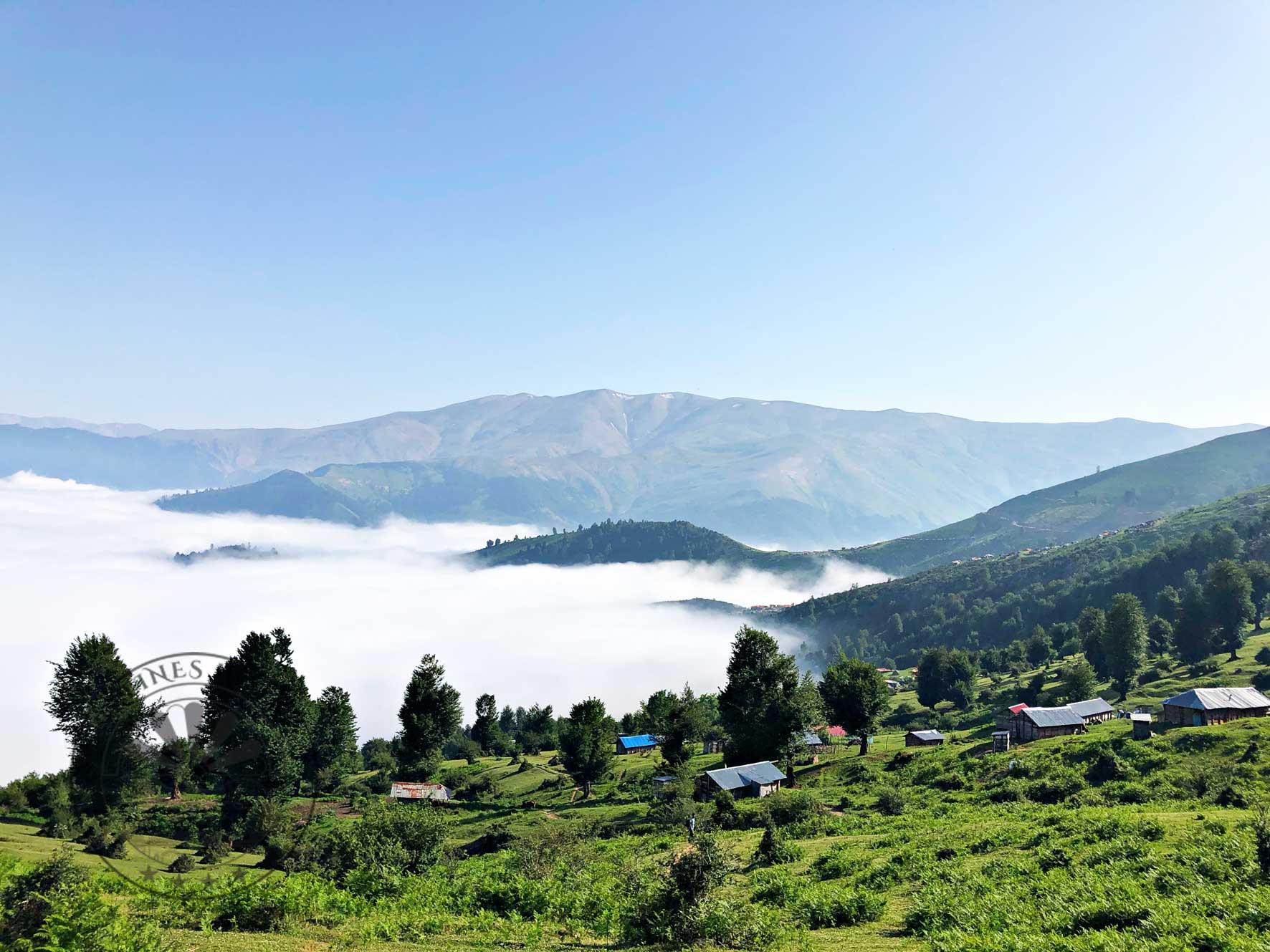 دریاچه ابر سوئه چاله (راتینس ماسال)