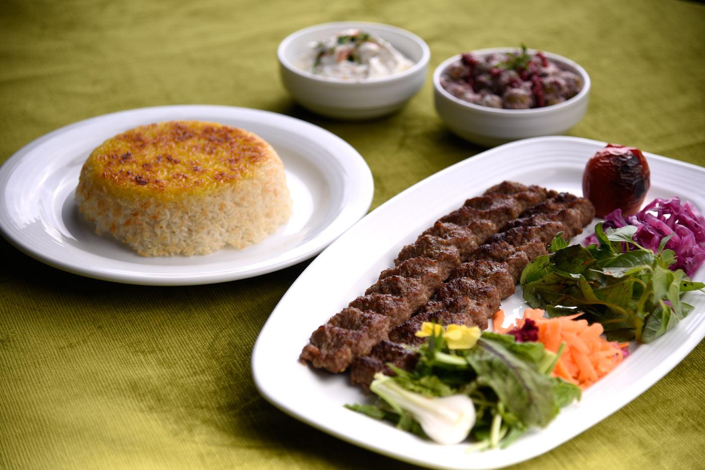غذای هتل راتینس گیلان