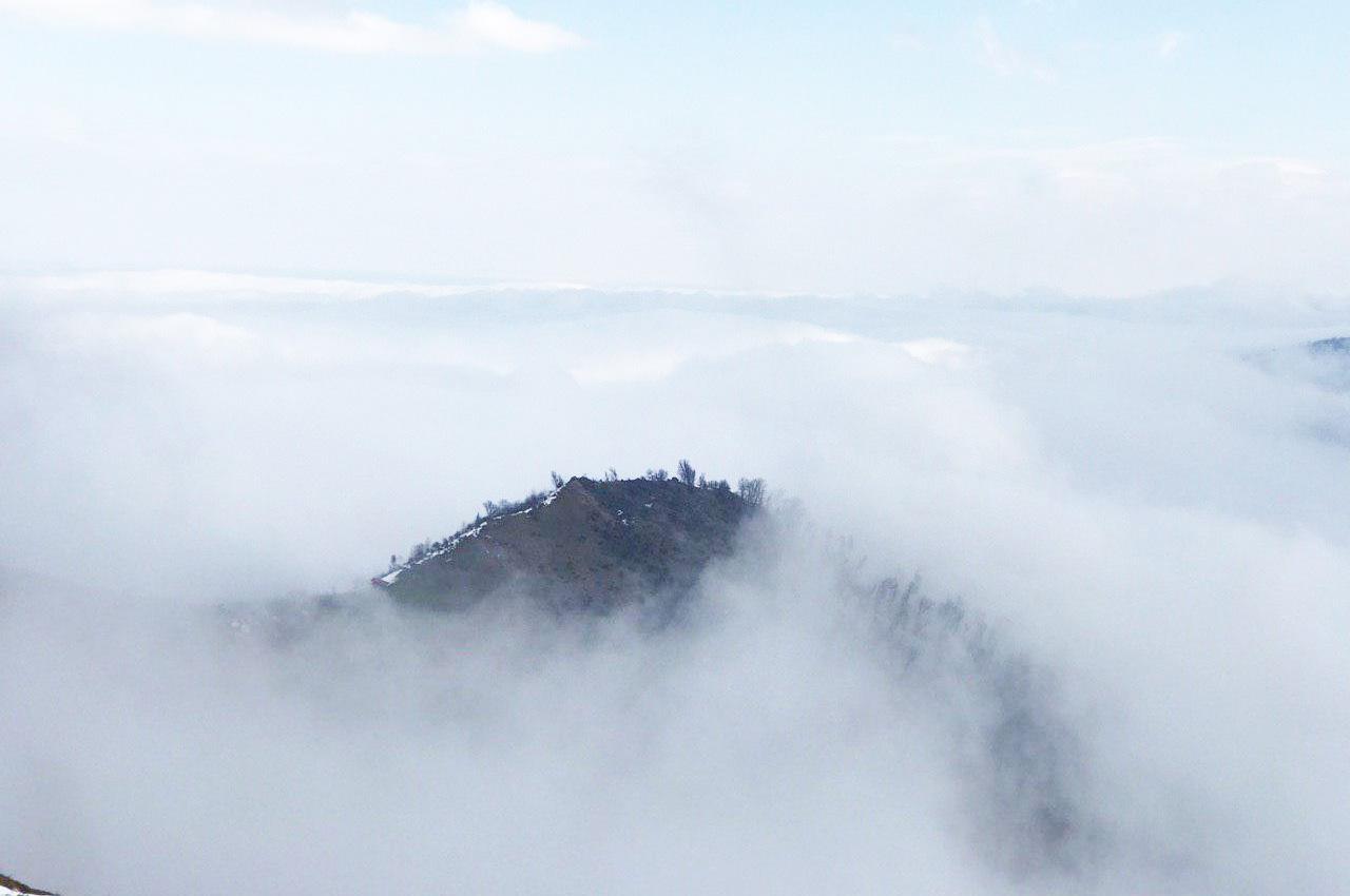ییلاق سوئه چاله ماسال، جایی در میان ابرها!