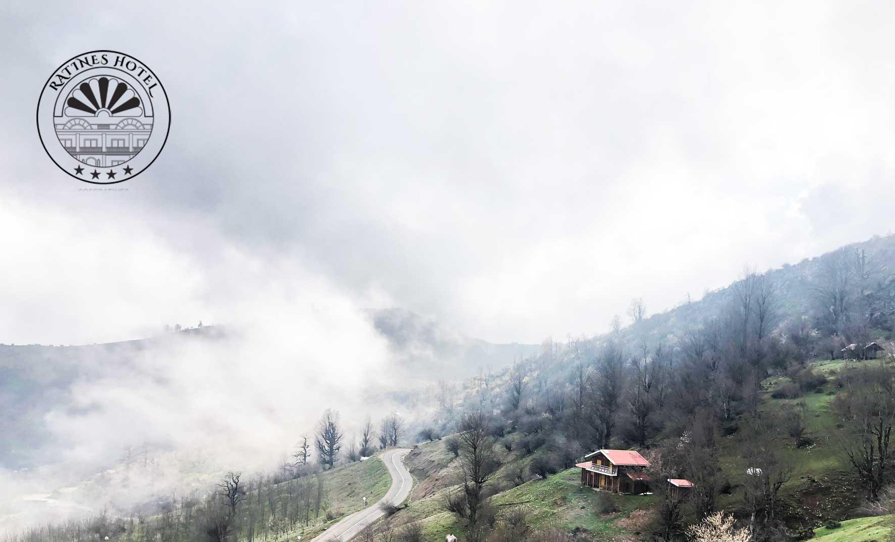 از هتل راتینس گیلان تا دریاچه ابر ماسال!