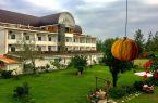 نمایی زیبا از هتل راتینس گیلان